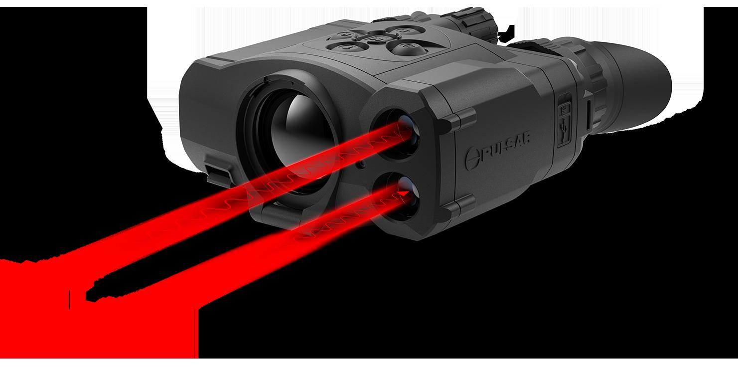 pulsar热成像双筒望远镜 ACCOLADE LRF XP50 12
