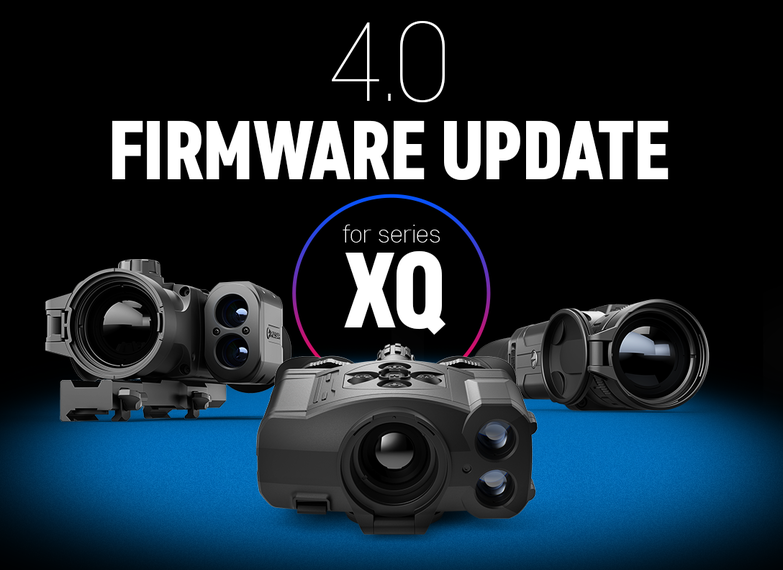 Firmware update 4.0 for XQ: Image Boost and User Mode.