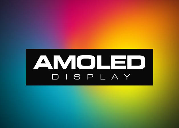 Full-Color, HD AMOLED Display