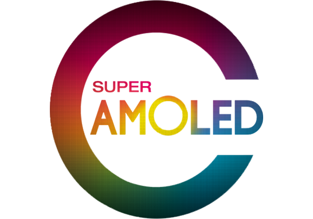 Display HD AMOLED a colori